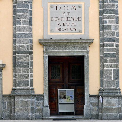 Chiesa di Sant'Eufemia e Battistero ad Oggiono
