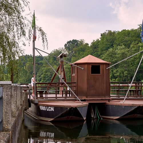 Traghetto di Leonardo a Imbersago